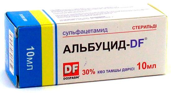 Альбуцид при нежиті