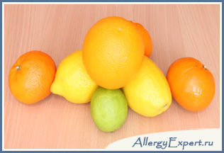 Алергія на цитрусові лікування Вс про алергії