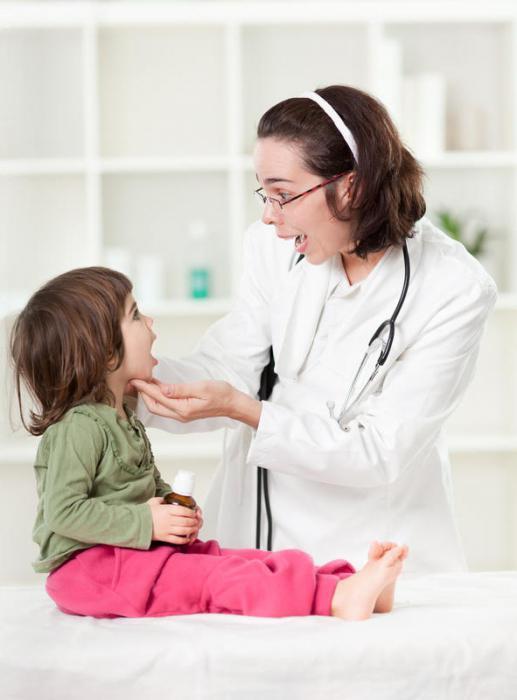 Ангіна у дітей до року як і чим лікувати