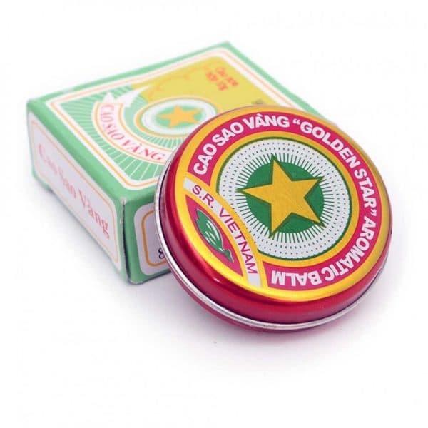 Бальзам Золота зірка при лікуванні нежиті правила застосування