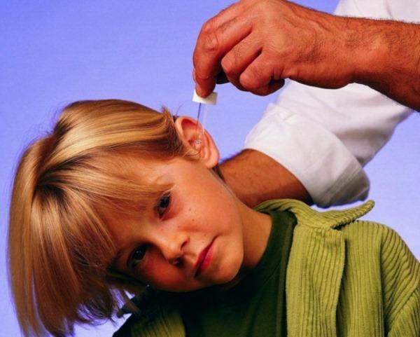 Борна кислота у вухо при отиті