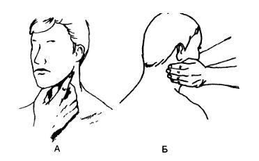 Де знаходяться лімфовузли на шиї і як перевірити їх стан знаючи схему розташування