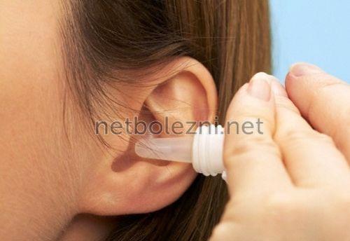 Ефективні краплі для дітей від отиту запалення вуха