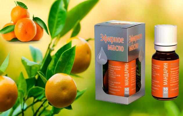 Ефективність догляду за шкірою з маслом мандарина