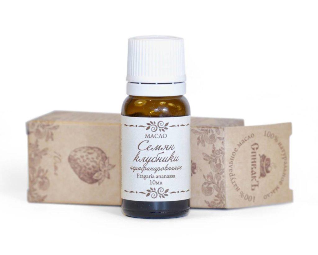 Ефективність догляду за шкірою з олією насіння садової полуниці