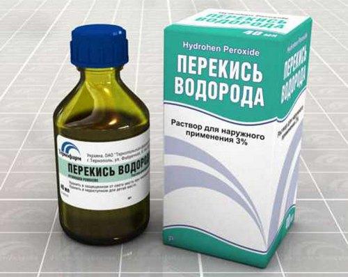 Ефективне лікування нежиті перекисом водню