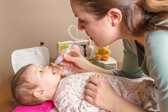 фізіологічний розчин для промивання носа новонародженому