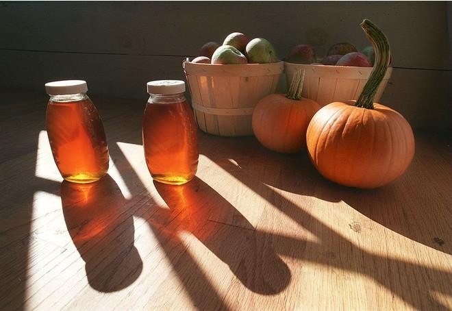 Гарбуз з медом для лікування печінки