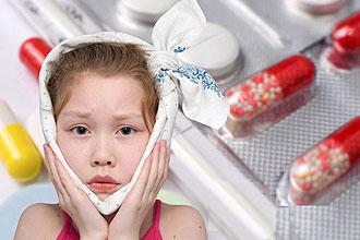 Гострий катаральний середній отит у дітей лікування