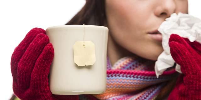 Лікування при перших ознаках застуди у дорослих