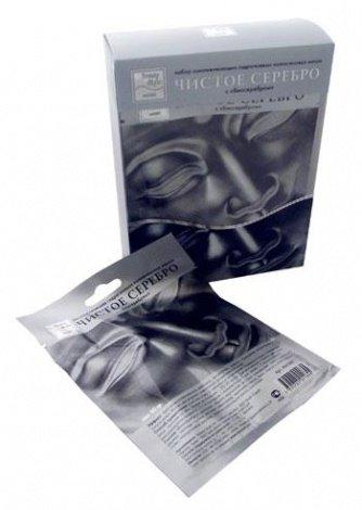 Маски для обличчя з сріблом