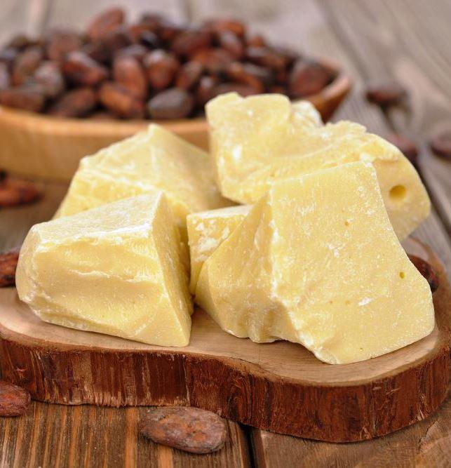 Масло какао від прищів