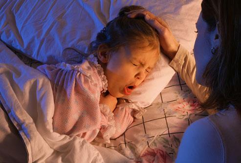 Нічні напади кашлю у дитини
