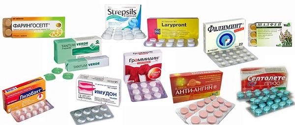 найкращі таблетки для розсмоктування від горла і правила їх застосування