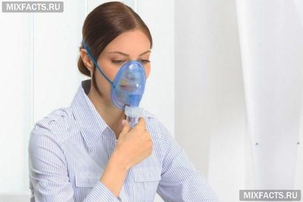 Небулайзер при нежиті інгаляції через небулайзер