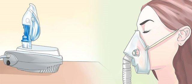 Інгаляції для лікування синуситу небулайзером різні розчини