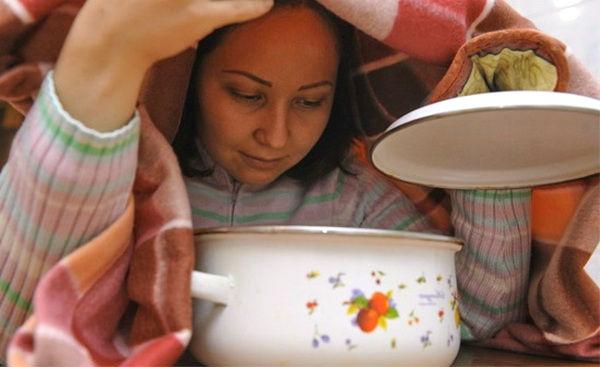 Інгаляції при кашлі у домашніх умовах