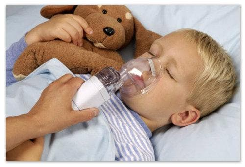Інгаляції при мокрому кашлі у дітей