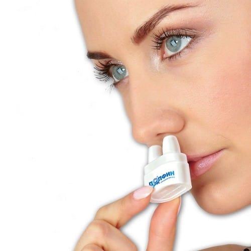 Інструкція по застосуванню Долфіну для промивання носа при гаймориті у дітей і дорослих