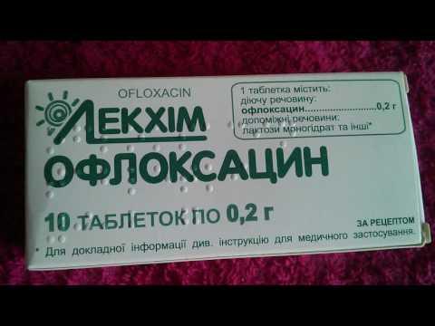 Інструкція по застосуванню препарату Офлоксин для дорослих і дітей дозування і аналоги