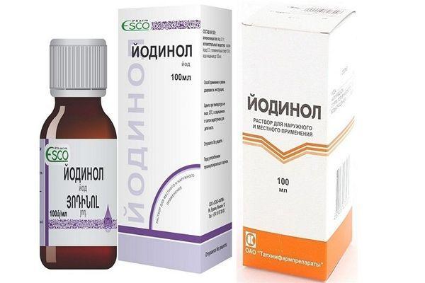 Інструкція по застосуванню препарату Йодинол для полоскання горла дітям і дорослим як розводити