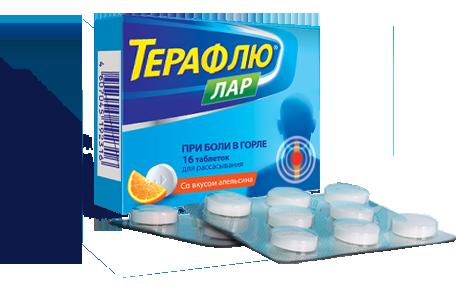 Інструкція щодо застосування спрею для горла Терафлю
