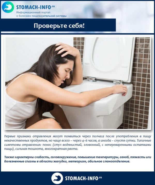 Інтоксикація організму симптоми лікування в домашніх умовах
