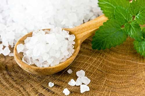 Застосування морської солі від прищів