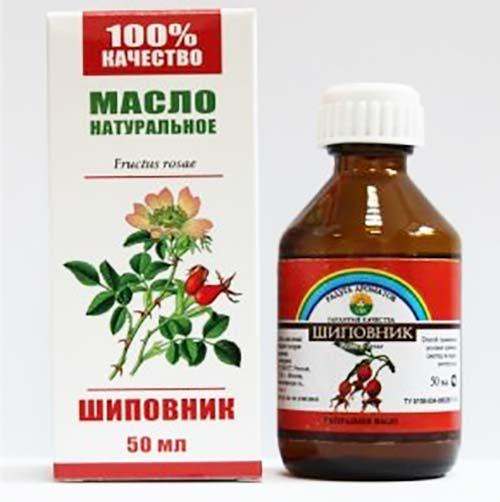 Застосування олії шипшини від прищів